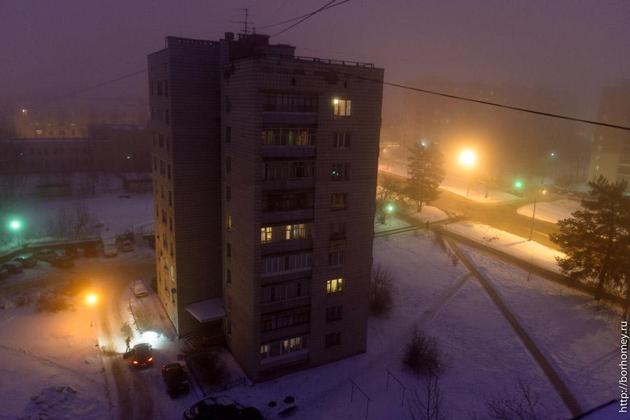 фотографии тумана в Сарове
