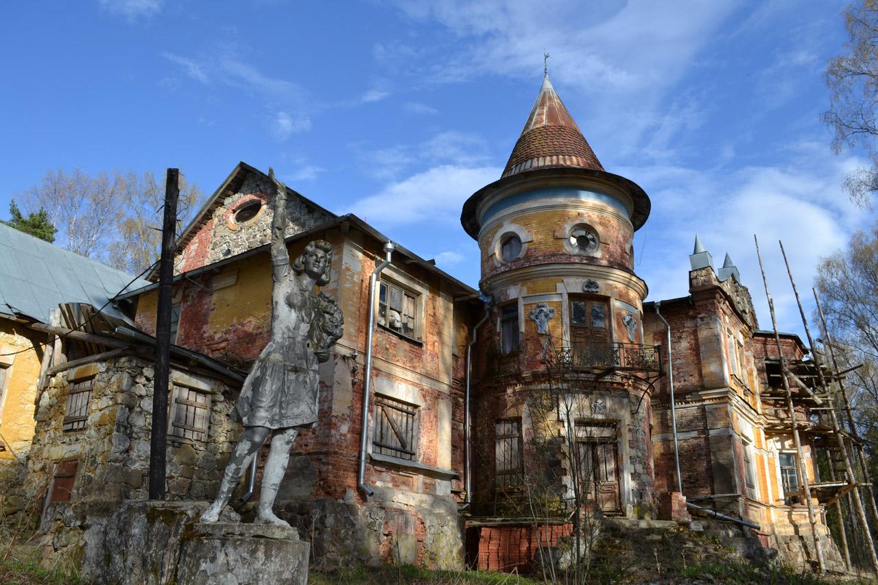 Заброшенные объекты здания постройки Россия фото