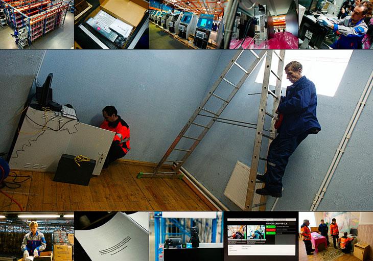 Установка вэб-камер на избирательных участках перед выборами Президента (27 фото)
