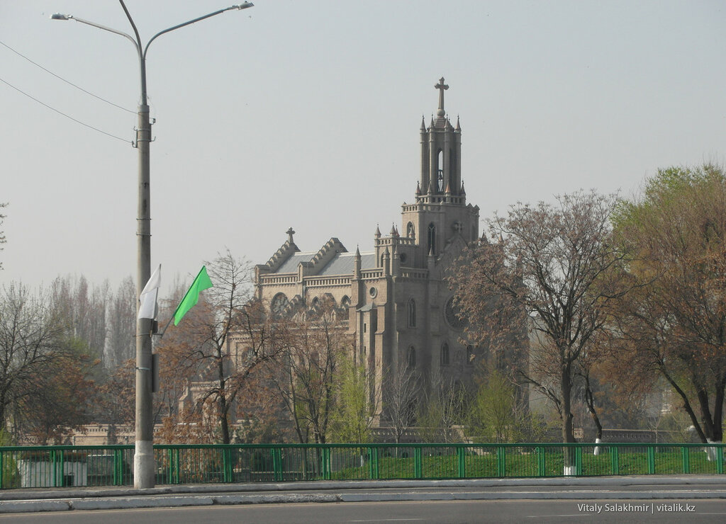 Собор Святейшего Сердца Иисуса, Ташкент