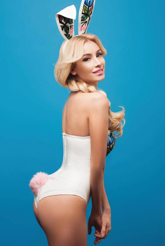 Inna Gudz nude / обнаженная Инна Гудзь в журнале Playboy Ukraine april 2017