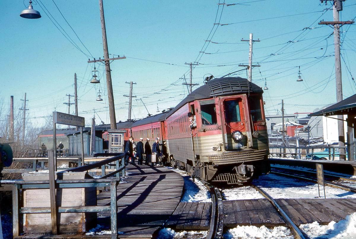 Наш паровозик чух-чух-чух!: Старая электричка до Чикаго (1960 год)