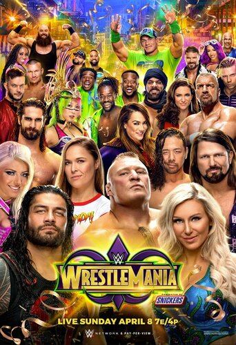 Post image of WrestleMania 34