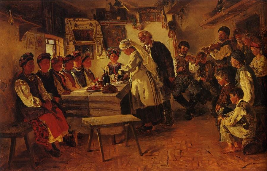 Девичник 1882 Киевский национальный музей русского искусства, Украина.