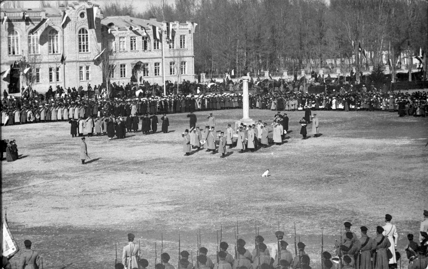 Скобелев. Открытие памятника М. Д. Скобелеву. 1907
