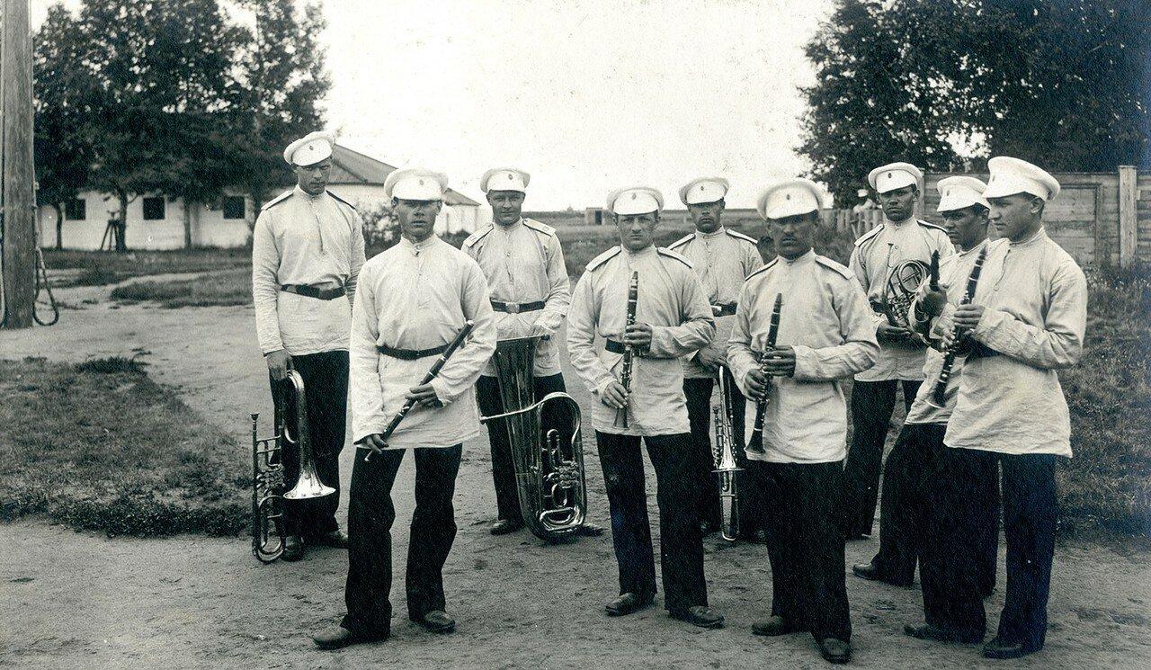 1887 - 1901. Кадетский оркестр в Лагере