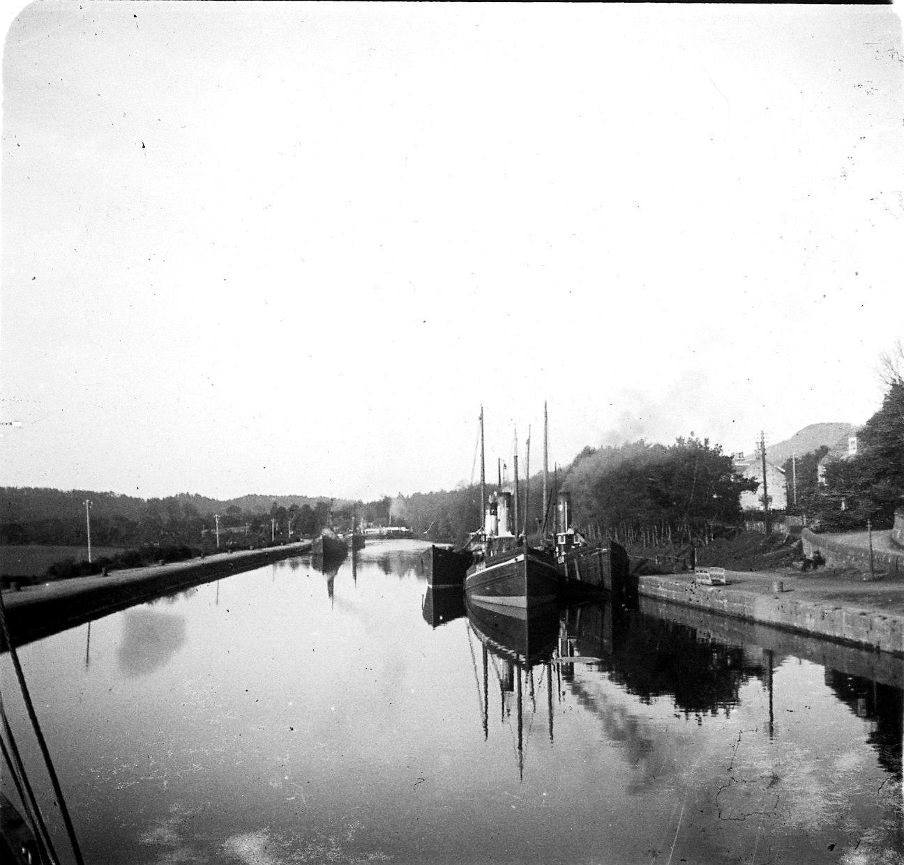 Каледонский канал. Начало