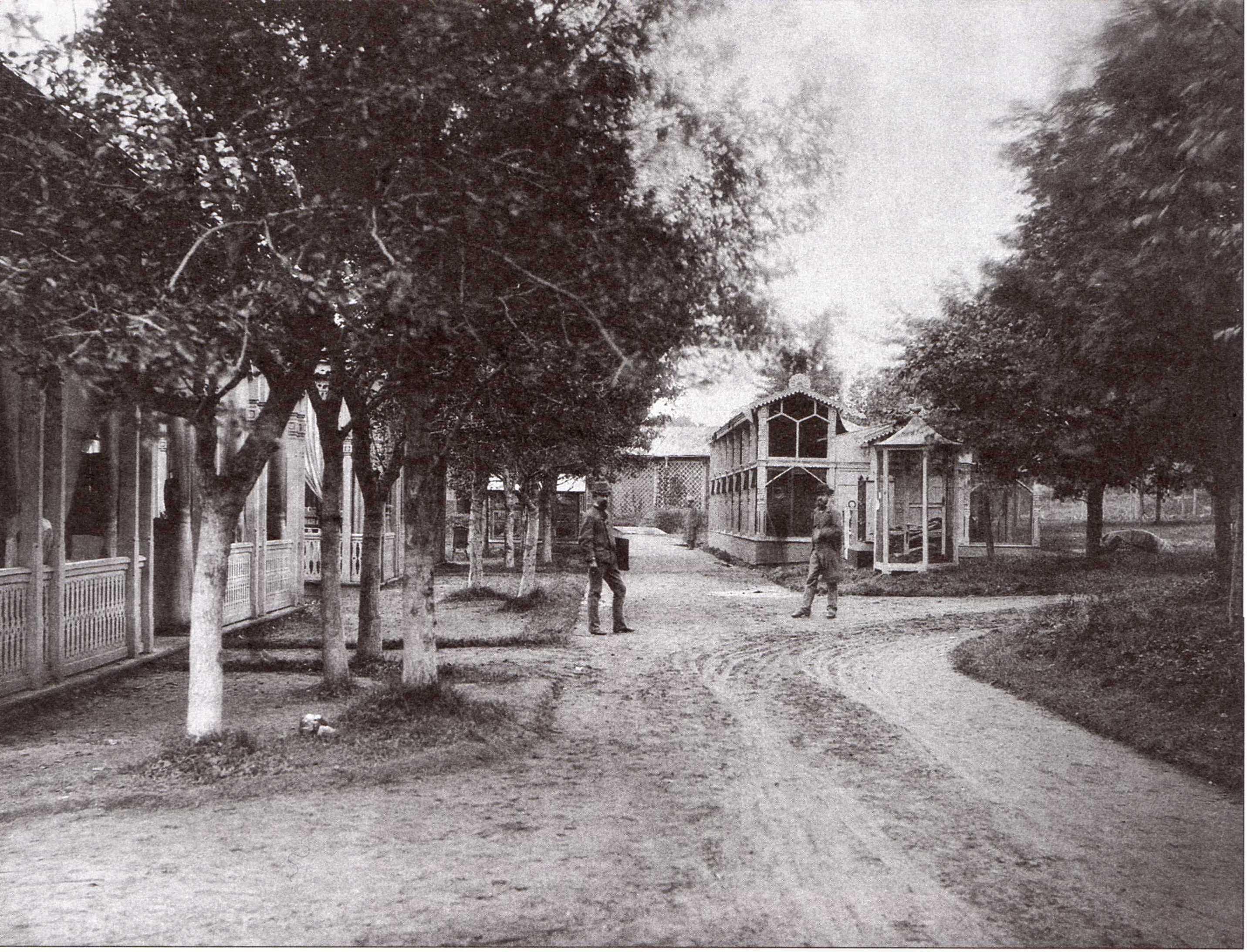 В Московском зоосаде. 1878