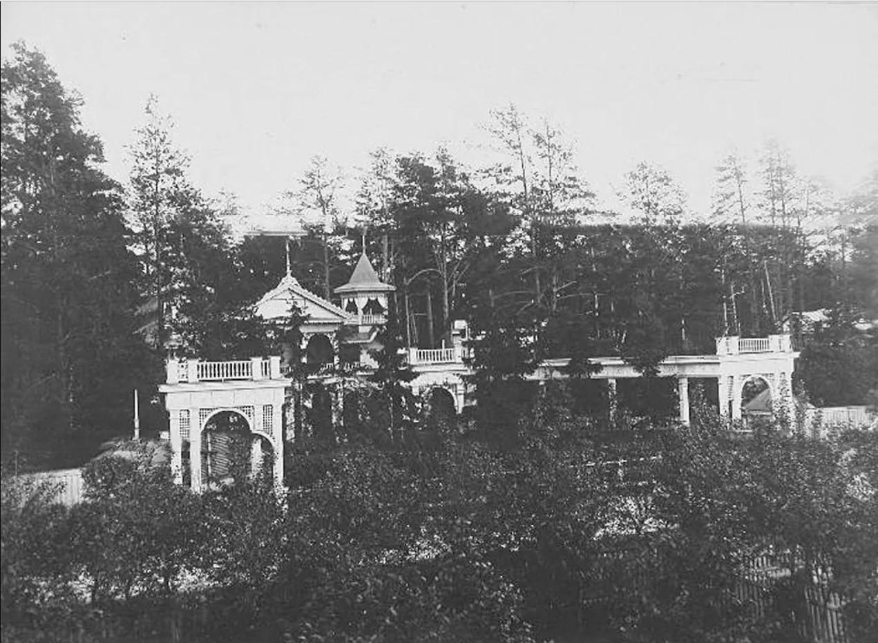 Останкино.Вид на театр. 1913