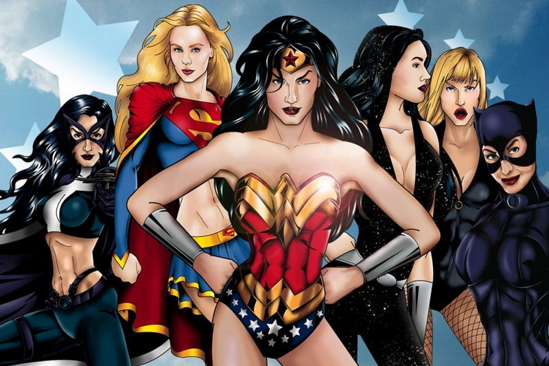 Девушки супергерои сексуальные