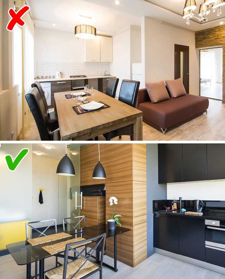 8ошибок вдизайне маленьких квартир, которые «крадут» пространство (8 фото)