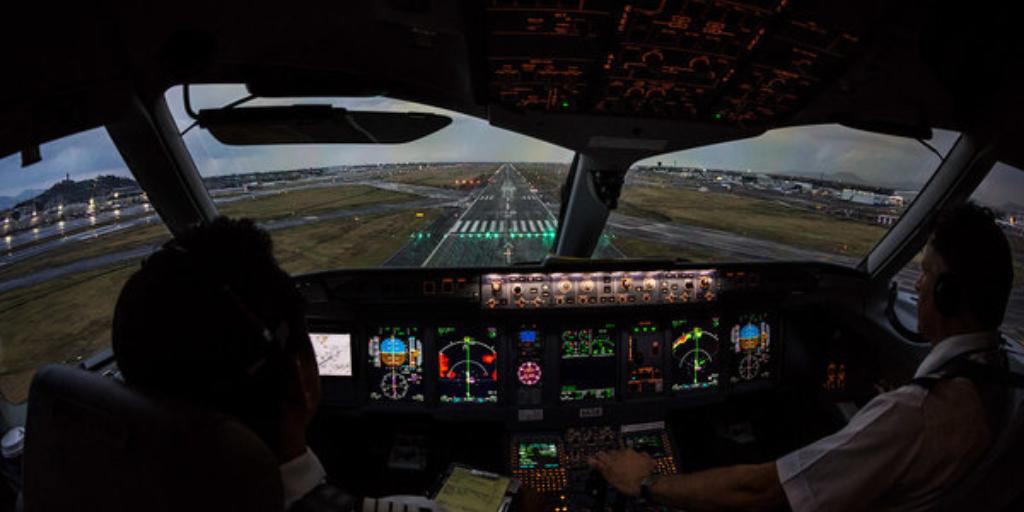 Sukhoi Superjet 100 пилот фото из самолета