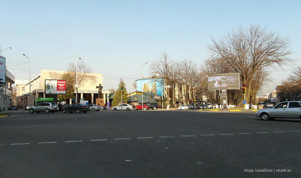 Туркестанская-Момышулы, Шымкент