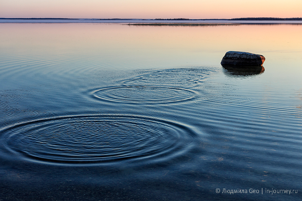 фотография Онежского озера