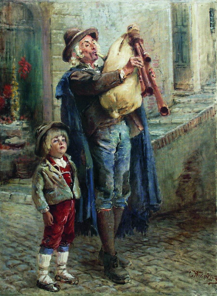 Бродячие музыканты. Конец 1900-х - 1910-е.