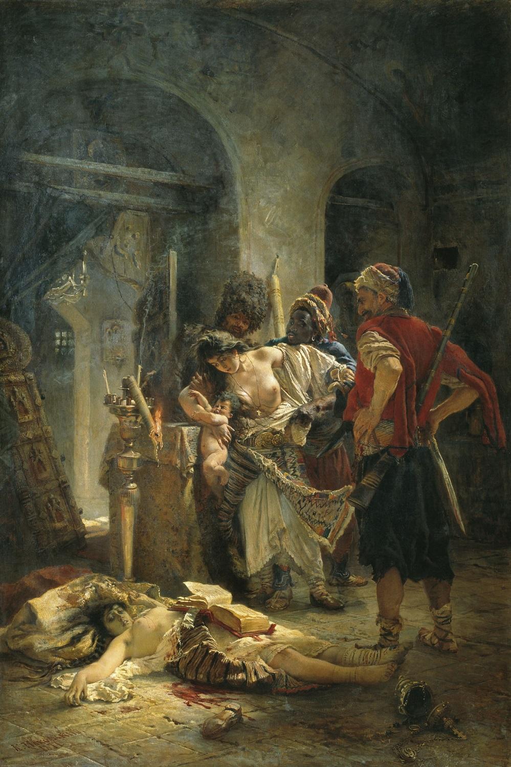 Болгарские мученицы. 1877 Национальный художественный музей Республики Беларусь, Минск