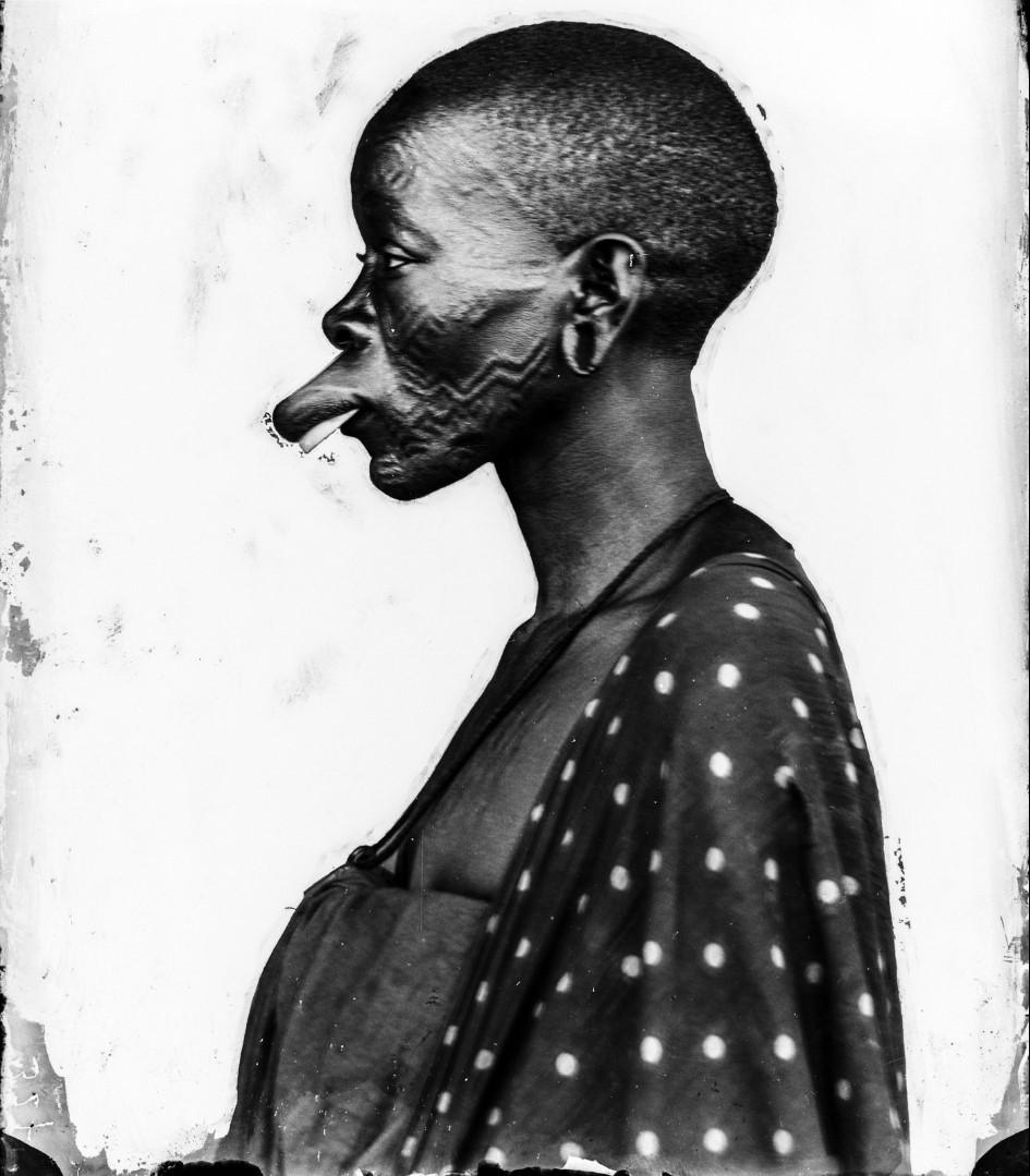 35. Антропометрическое изображение женщины маконде