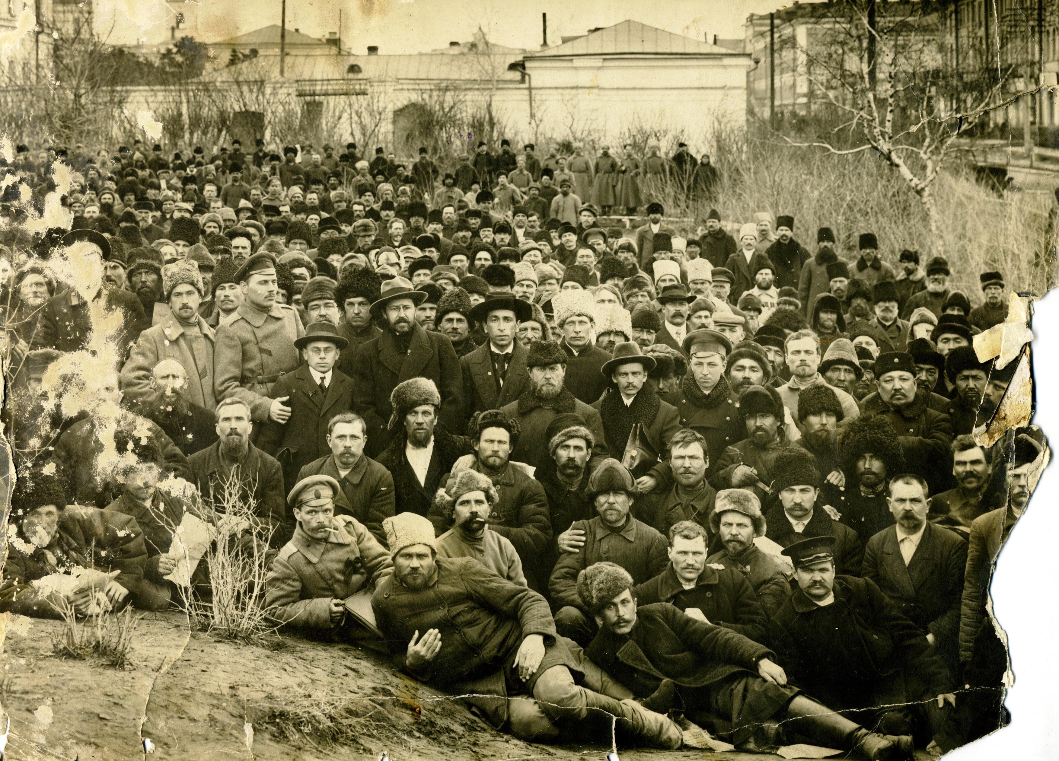 Первый учредительный съезд Западно-Сибирского совета крестьянских депутатов. 25-30 марта