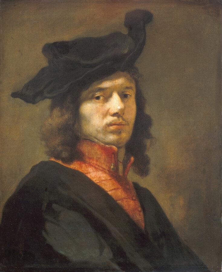 Carel_Fabritius_-_Self-Portrait_-_Alte_Pinakothek ок. 1645.jpg
