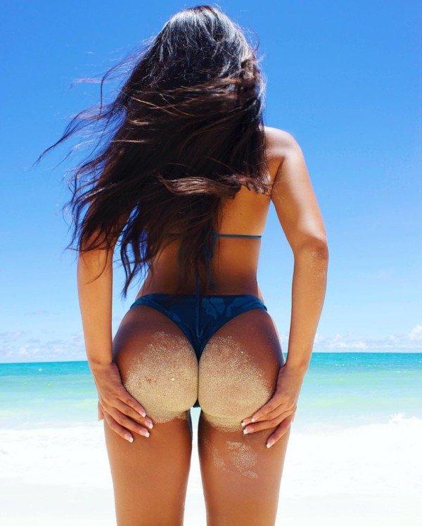 Пляжные женские попки, фотки порно разврата