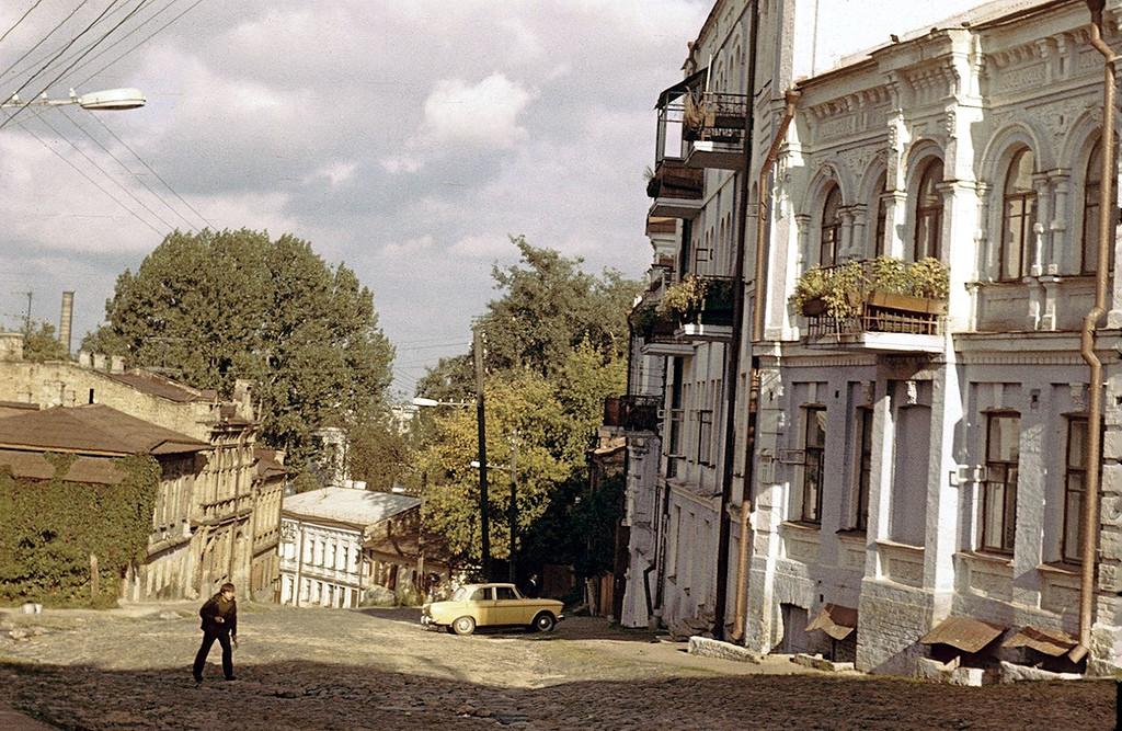 Киев, Андреевский спуск, 1978 год