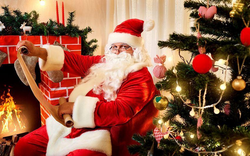 Новый год, дед мороз, санта клаус, рождество