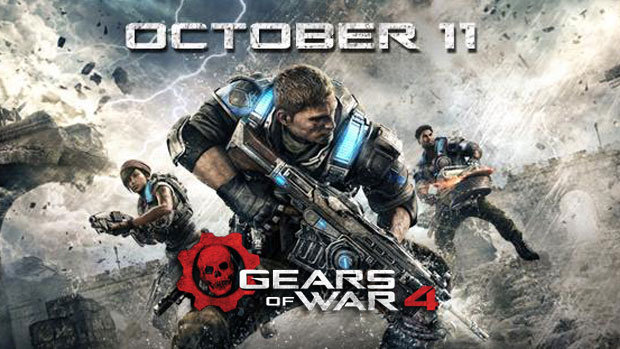 Gears of War 4 в наличии для Xbox One (Ulmart)