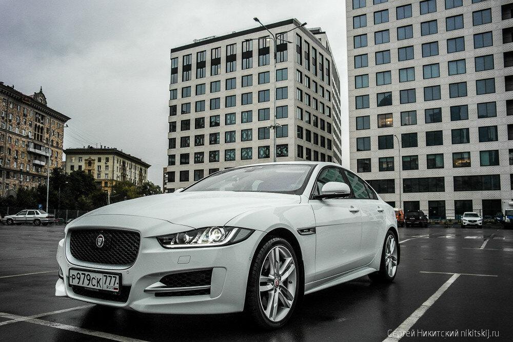 Воплощение изысканности и элегантности - Jaguar XE