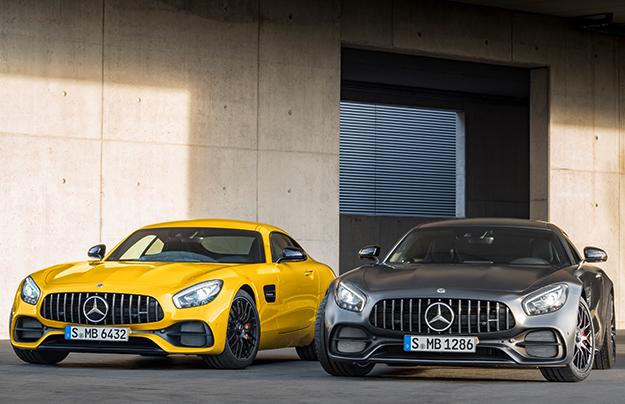 Дорожному Mercedes-AMGGT добавили полноуправляемое шасси