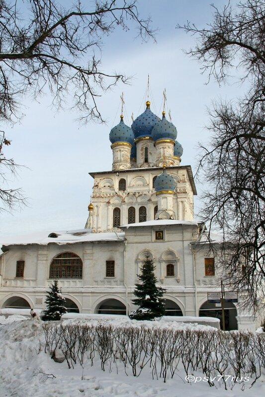 Храм Казанской Иконы Божией Матери.