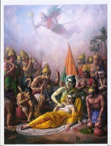 Рамаяна история ранения Лакшмана