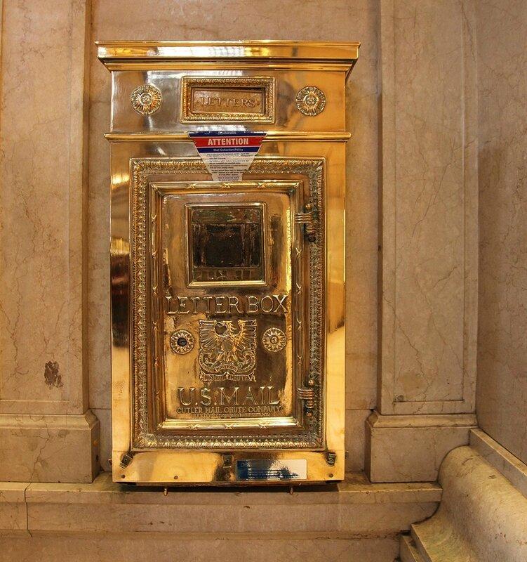 Почтовый ящик на Grand Central New York
