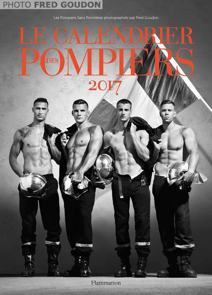 Французские пожарные выпустили самый горячий календарь года (8 фото) 18+