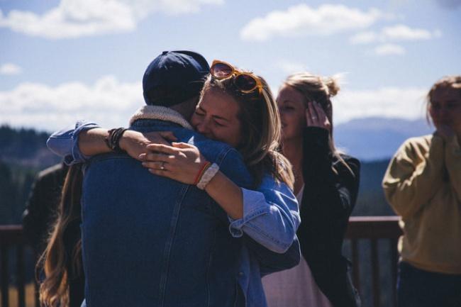© Love What Matters  Пара вернулась вотель ивсего занесколько часов подготовилась ксвадебн