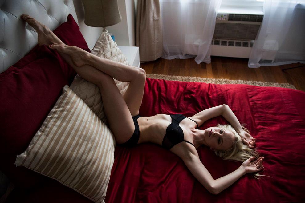 Элина Миеттинен, кордебалет, Американский театр балета. Элина родилась в России, много лет прожила в