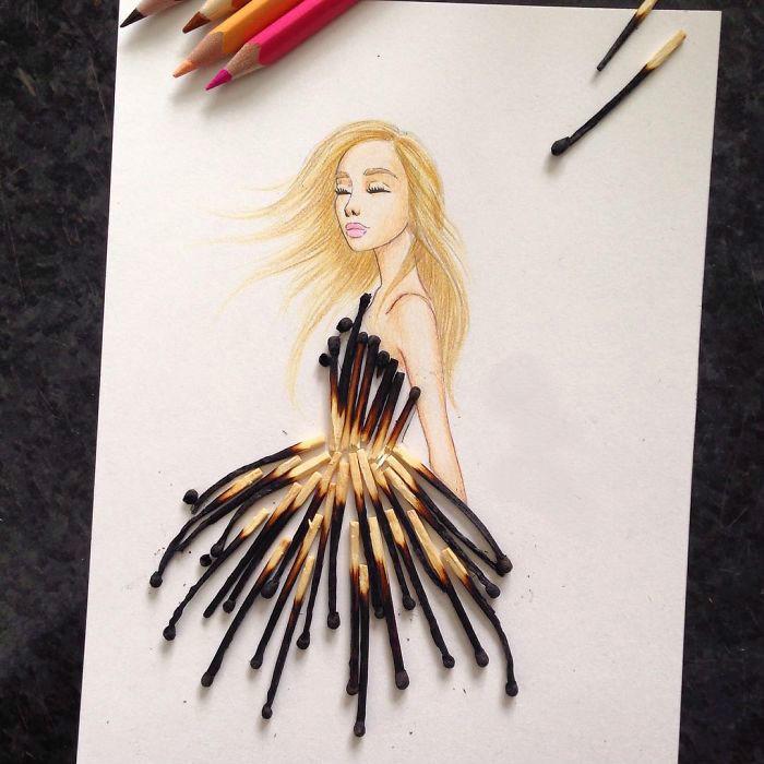 20 фантастических платьев от модного иллюстратора из Армении