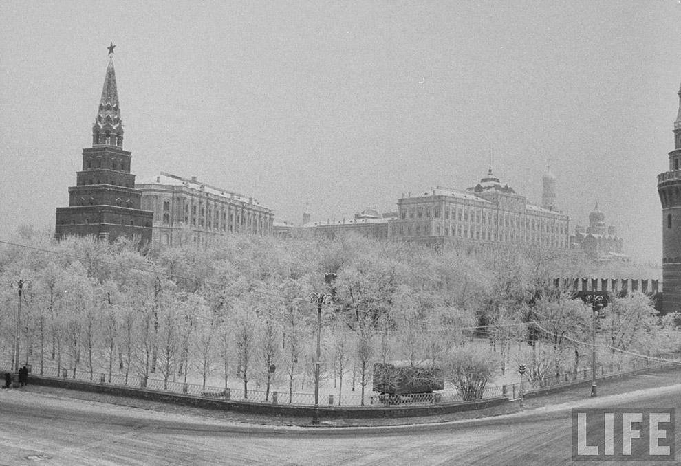15. «Замороженный» Кремль.