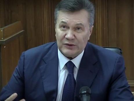 Допрос Януковича поделу обубийствах наМайдане сорван