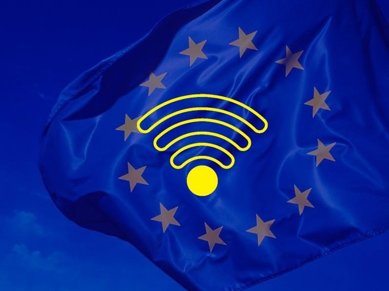 В государствах ЕС в социальных местах появится бесплатный WI-FI