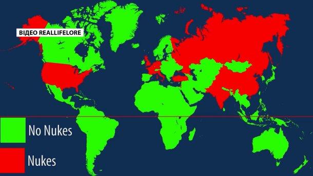 Больше всего— вСаратове: жители Америки показали расположение ядерных бомб вмире