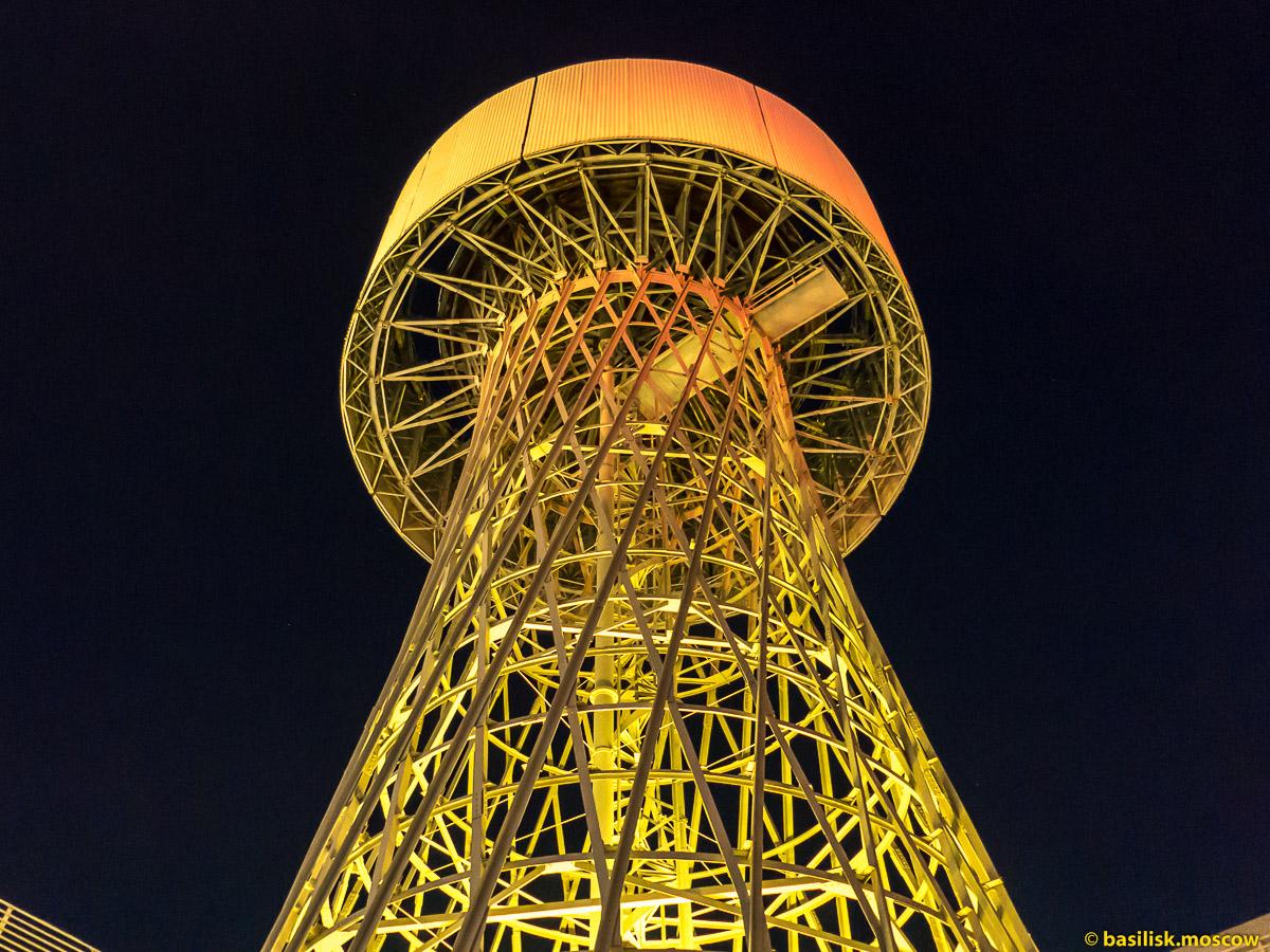 Шуховская башня в Краснодаре. Октябрь 2016