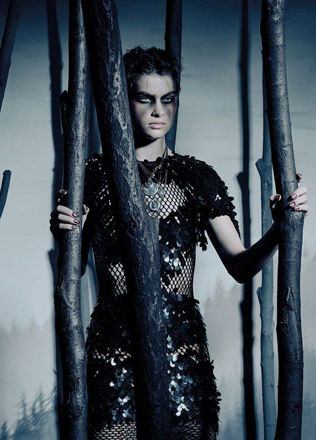 The Vikings: Benthe de Vries & Elsa Brisinger for S Magazine Latest Issue