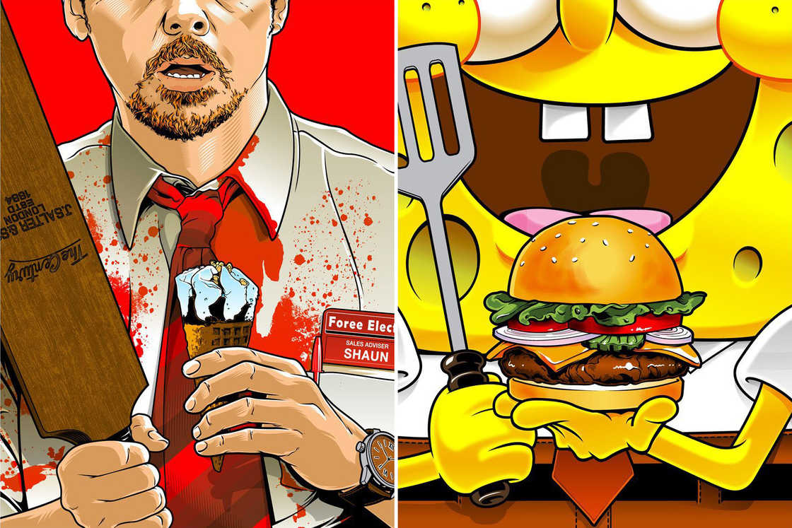 Fictional Food 2 – A tribute to food in pop culture and cult movies