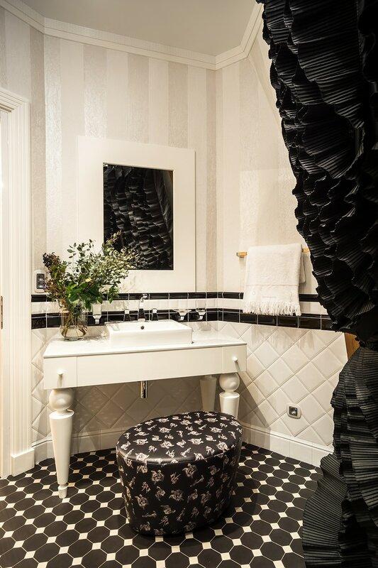 Текстиль и аксессуары в ванных комнатах – Детали в интерьере 68e34ca7052f9