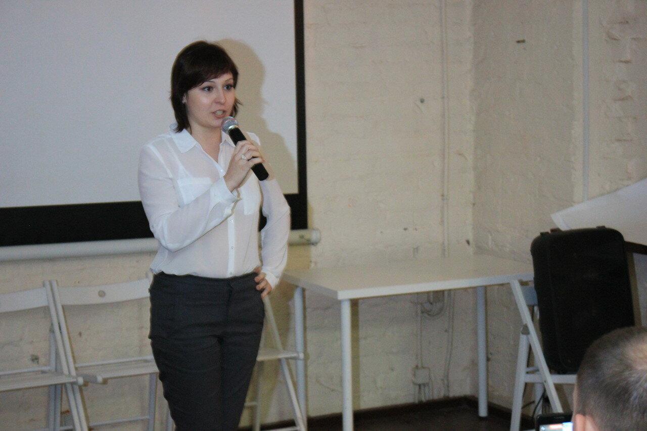 Жена политзаключенного Ильдара Дадина – Анастасия Зотова
