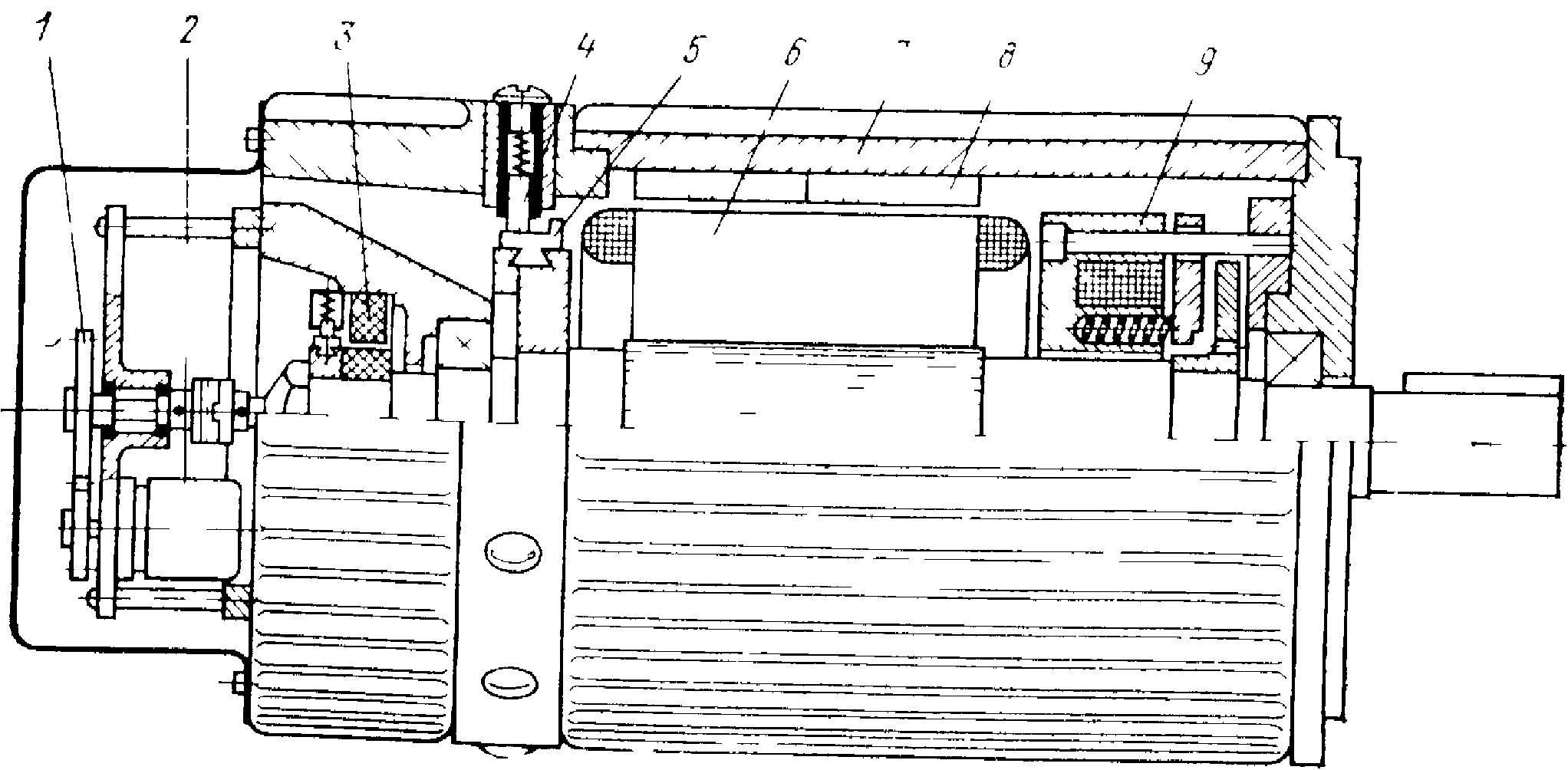 высокомоментный двигатель