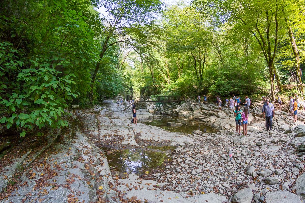Агурское ущелье, водопады фото 10