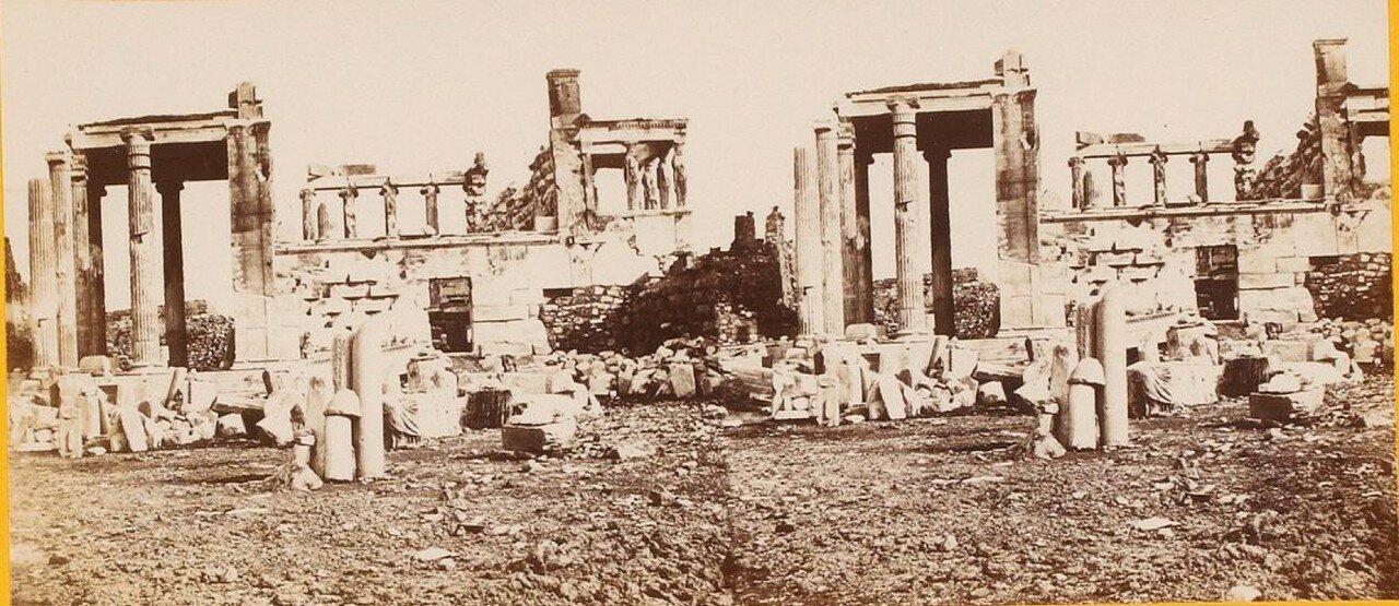 Акрополь. Развалины храмов