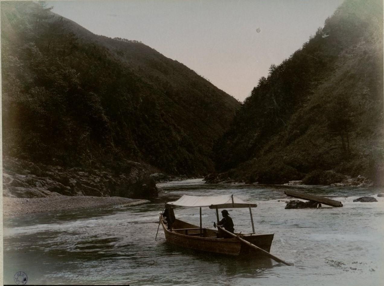 Окрестности Киото. Река Катсурагава