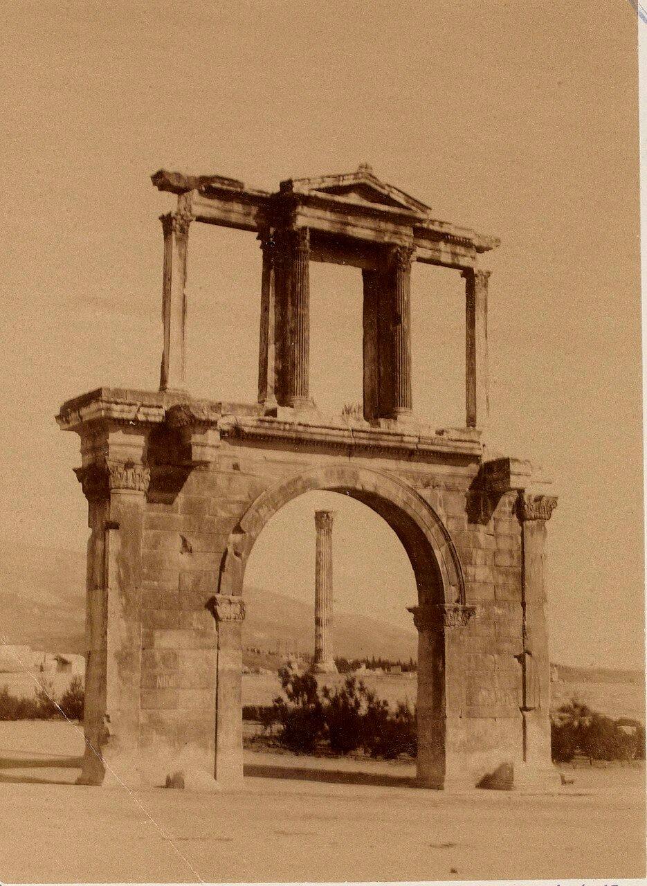 44. Афины. Арка Адриана